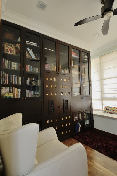 Asian Cosmopolitan Penthouse - Study room