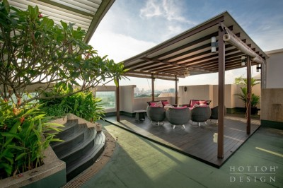 Blossoms Penthouse - Roof Terrace